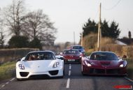Paul Bailey and 3 supercars 8 190x129 Video: Porsche 918 Spyder, Paul Bailey´s Ferrari LaFerrari und McLaren P1