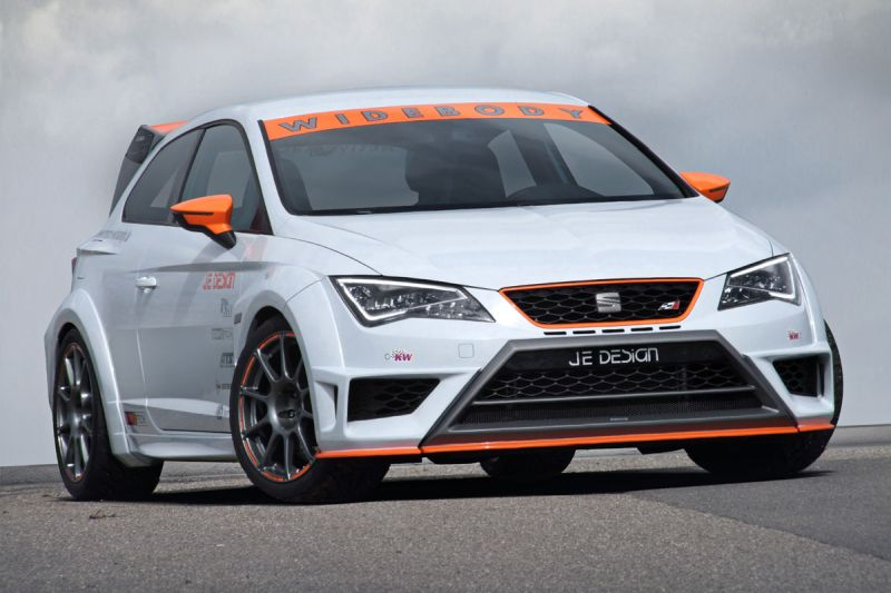 Seat Leon Cupra JE Design tuning 1 Widebody Kit von JE Design am neuen Seat Leon Cupra