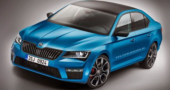 Skoda SuperB RS 1 X Tomi Design kreiert sportlichen Skoda Superb TDI RS