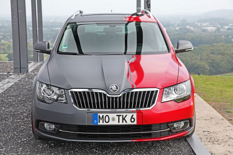 ok tuning und cam shaft tunen den skoda superb. Black Bedroom Furniture Sets. Home Design Ideas