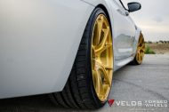 bmw m6 gran coupe on velos s3 wheels 10 190x126 BMW M6 Gran Coupé mit goldenen Velos S3 Felgen