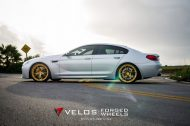 bmw m6 gran coupe on velos s3 wheels 7 190x126 BMW M6 Gran Coupé mit goldenen Velos S3 Felgen