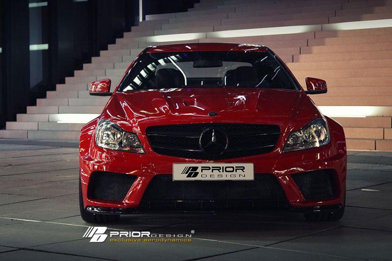c klasse coupe prior 1 Monster C! Prior Design tunt das aktuelle Mercedes C Klasse Coupe
