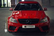 c klasse coupe prior 2 190x127 Monster C! Prior Design tunt das aktuelle Mercedes C Klasse Coupe