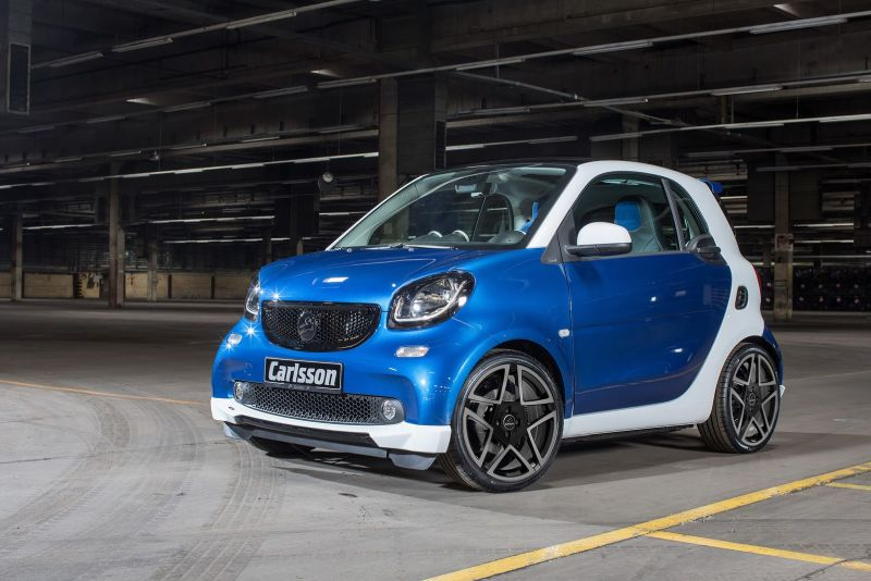 carlsson mit tuning kit ck10 am smart fortwo tuningblog. Black Bedroom Furniture Sets. Home Design Ideas