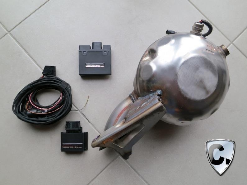 chrometec soundmodul 1 V8 Power gepaart mit einem Bluetec? Chrometec macht´s möglich