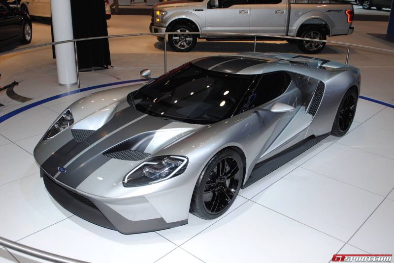 2016 ford gt in silver 2015 chicago auto show 03 2017 2018 best cars reviews