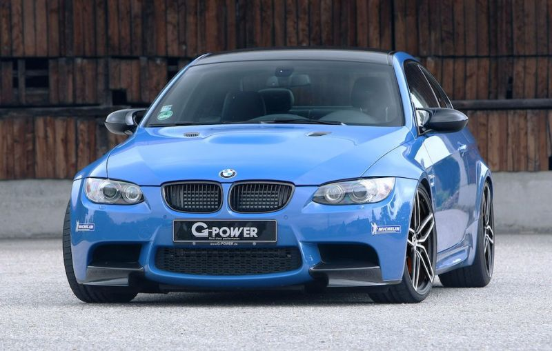 g power 630 hp 1 G Power zeigt 630PS Tuning am BMW E92 M3