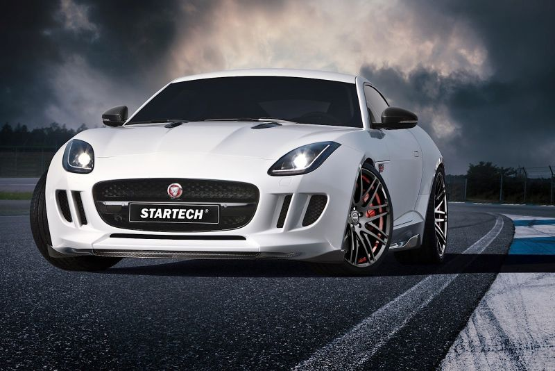jaguar f type coupe startech 1 Startech zeigt Tuning Paket am Jaguar F Type Coupe