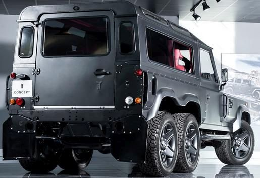 kahn tuning fly 3 Heftig! Kahn Design Flying Huntsman 110 WB 6x6 Vision
