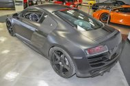 matte black audi r8 10 190x126 Audi R8 matt Schwarz! 800PS Dank VF Engineering