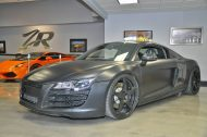 matte black audi r8 8 190x126 Audi R8 matt Schwarz! 800PS Dank VF Engineering