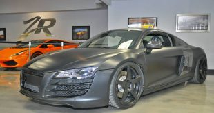 matte black audi r8 8 310x165 Audi R8 matt Schwarz! 800PS Dank VF Engineering