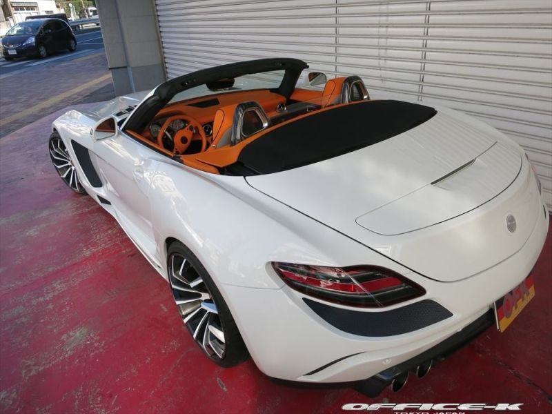 office k sls roadster forgiato wheels 1 Mercedes SLS Roadster vom japanischen Tuner Office K