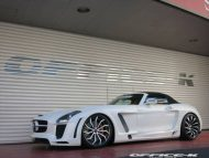 office k sls roadster forgiato wheels 14 190x143 Mercedes SLS Roadster vom japanischen Tuner Office K