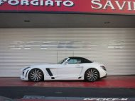 office k sls roadster forgiato wheels 16 190x143 Mercedes SLS Roadster vom japanischen Tuner Office K