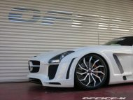 office k sls roadster forgiato wheels 5 190x143 Mercedes SLS Roadster vom japanischen Tuner Office K