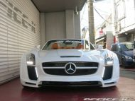 office k sls roadster forgiato wheels 6 190x143 Mercedes SLS Roadster vom japanischen Tuner Office K