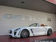 office k sls roadster forgiato wheels 8 190x143 Mercedes SLS Roadster vom japanischen Tuner Office K