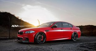 satin red bmw m5 3 310x165 R1 Motorsport BMW X5M in Melbourne Rot auf HRE Felgen