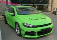 scirocco green china 1 190x133 VW Scirocco R! Froschgrünes Tuning in China