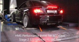 video hms performance mit klappe 310x165 Video: HMS Performance mit Klappen Sportauspuff am BMW 1M Coupé