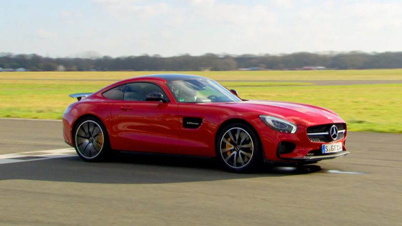 Video Mercedes Sls Amg Gt S Mit Bestzeit Bei Top Gear
