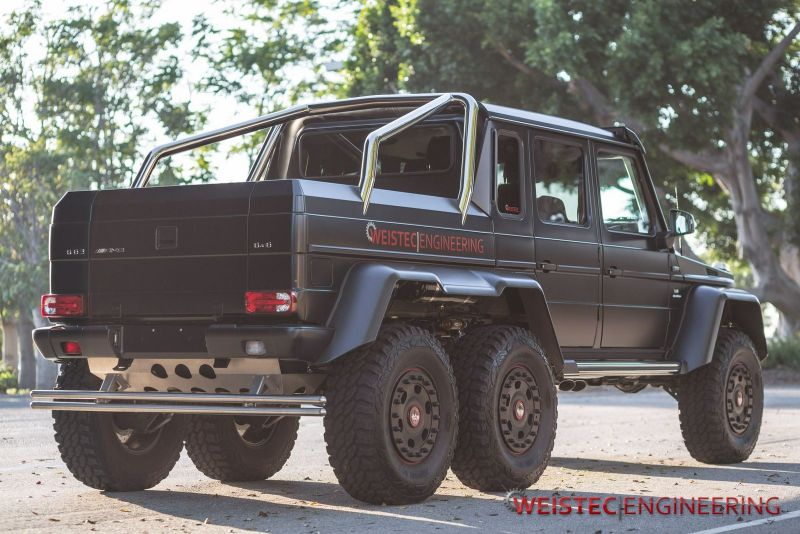 weistec engineering mercedes benz g63 amg 6x6 1 Weistec Engineering pimpt das Monster Mercedes Benz G63 AMG 6×6
