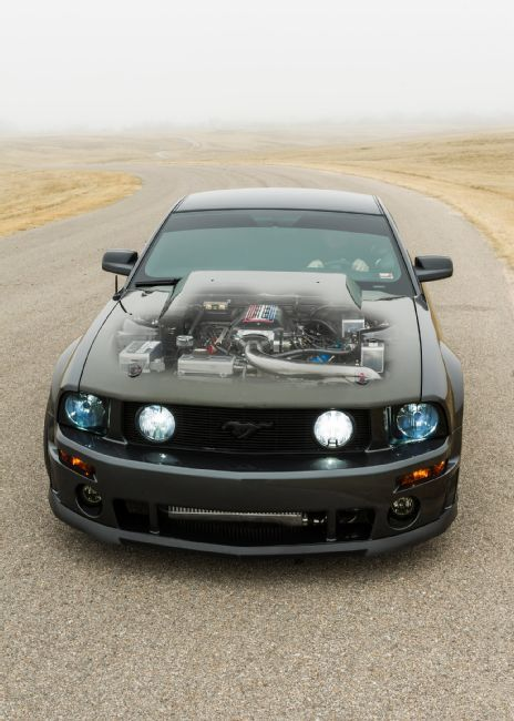 2007 ford mustang gt tuning 800ps 4 magazin. Black Bedroom Furniture Sets. Home Design Ideas