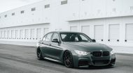 BMW F30 3 Series On MORR Wheels 6 190x105 MORR SpunForged FS77 Alufelgen auf dem BMW 3er F30