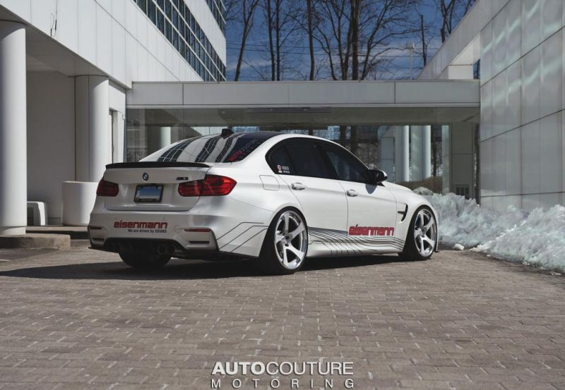 BMW F80 M3 AUTOCOUTURE Motoring 1 AUTOcouture Motoring tunt den BMW M3 F80