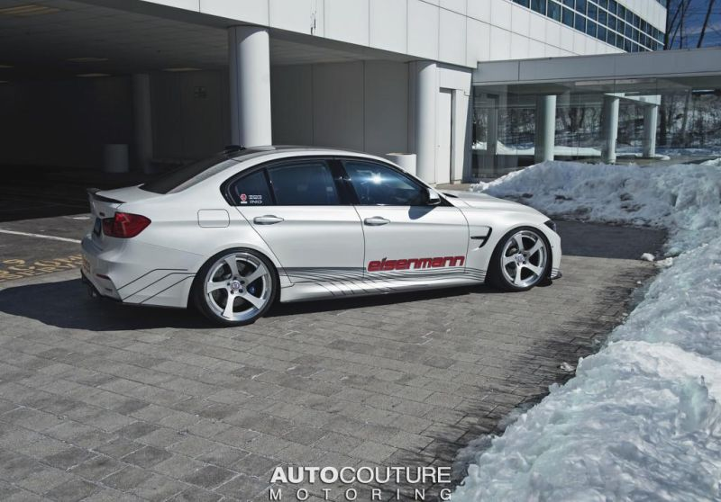 BMW F80 M3 AUTOCOUTURE Motoring 2 AUTOcouture Motoring tunt den BMW M3 F80