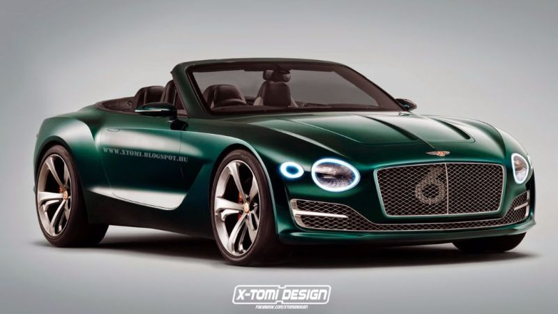 Bentley EXP10 Speed6 cabrio 1 X Tomi Design schneidet den Bentley EXP10 Speed 6 auf!