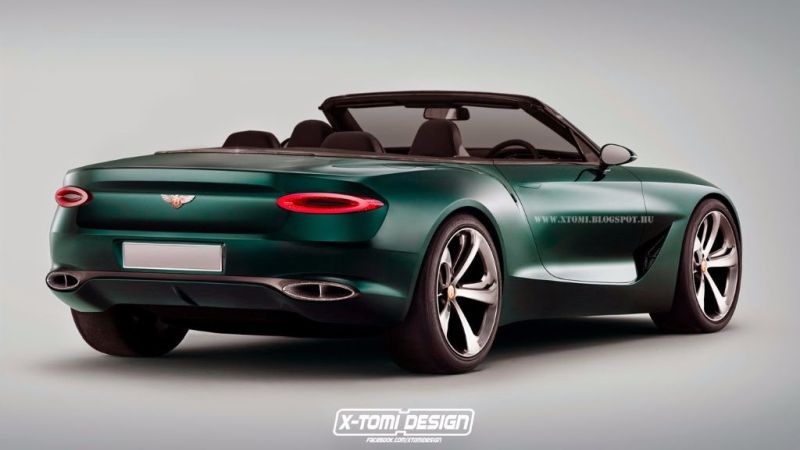 Bentley EXP10 Speed6 cabrio 2 X Tomi Design schneidet den Bentley EXP10 Speed 6 auf!