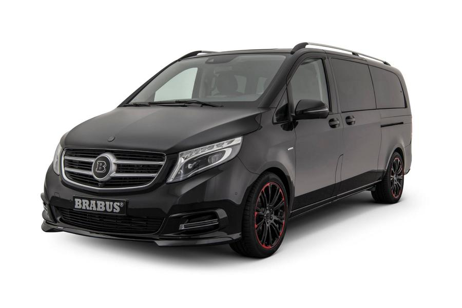 brabus tunt die neue mercedes v klasse. Black Bedroom Furniture Sets. Home Design Ideas