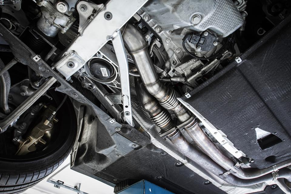 Chiptuning Downpipe BMW M3 F80 11 In Kombination mit Chiptuning   Downpipes für mehr Leistung