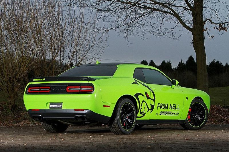 dodge challenger srt hellcat von geigercars tuningblog. Black Bedroom Furniture Sets. Home Design Ideas