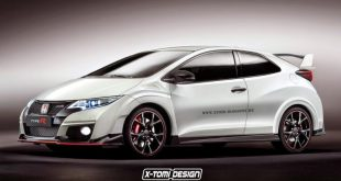 Honda Civic Type R 3door 1 310x165 X Tomi Design zeigt Vision des Honda Civic Type R 3 Türer