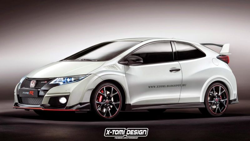 Honda Civic Type R 3door 1 X Tomi Design zeigt Vision des Honda Civic Type R 3 Türer