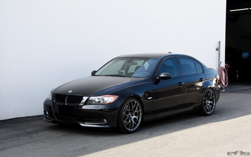 jet black bmw e90 335i tuning eas 5 magazin. Black Bedroom Furniture Sets. Home Design Ideas