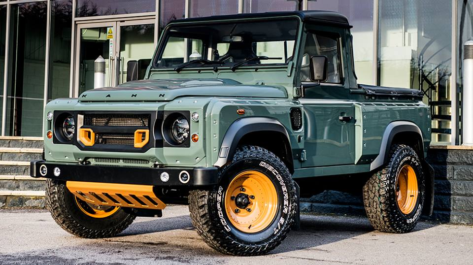 Kahn Design Land Rover Defender Pick Up Tuning 5 Land Rover Defender Pick Up vom Tuner Kahn Design