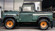 Keswick Green Defender Pickup by kahn design 1 190x107 Land Rover Defender Pick Up vom Tuner Kahn Design