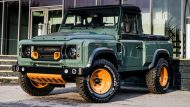 Keswick Green Defender Pickup by kahn design 4 190x107 Land Rover Defender Pick Up vom Tuner Kahn Design
