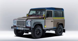Land Rover Defender Paul Smith 1 310x165 Modischer Land Rover Defender von Paul Smith und SVR