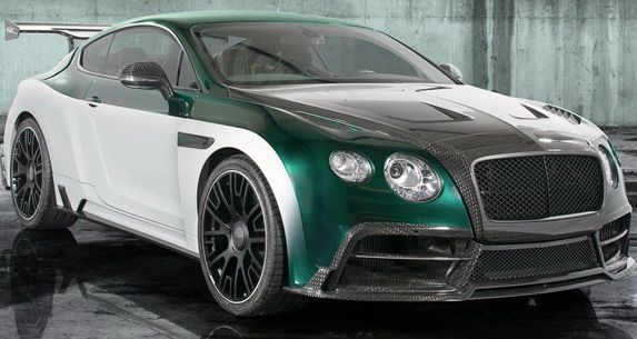 Mansory Race bentley 1 Der rockt! Bentley Continental GT Race vom Tuner Mansory