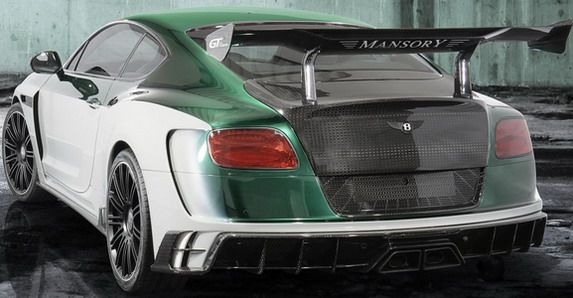 Mansory Race bentley 2 Der rockt! Bentley Continental GT Race vom Tuner Mansory