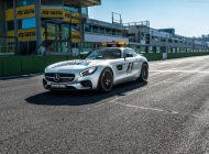 Mercedes Benz AMG GT S F1 Safety Car 2 190x140 Sicherheit geht vor! Der neue Mercedes AMG GT S + C63 S F1 Safety Car