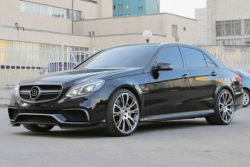 Mercedes E 63 AMG 1 Selfmade Brabus Mercedes E 63 AMG mit 900 PS