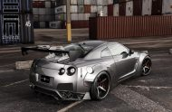 Nissan GT R Wide Body exclusive motoring 7 190x124 Exclusive Motoring tunt den Nissan GT R mit einem Wide Body Kit