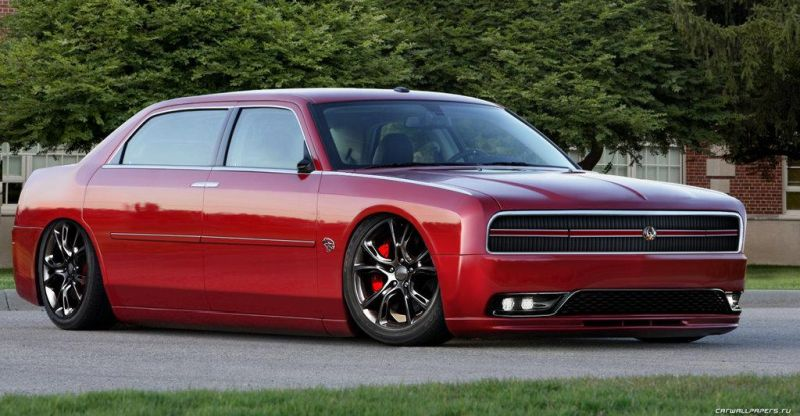 hellcat imperial rendering tuning 1 Vision: Chrysler 300 SRT im Low Hellcat Look!